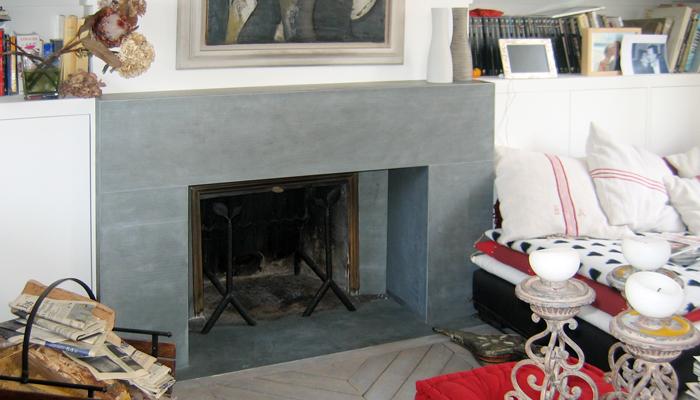 Decoration zinc for Interieur zinc